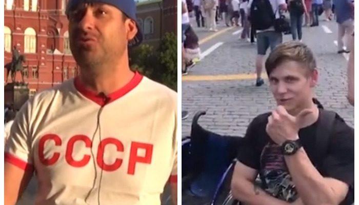 Русский болельщик-инвалид получил в подарок от американского болельщика-инвалида инвалидное кресло за 10 000$