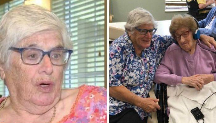 80-летняя старушка нашла родную 100-летнюю мать. Теперь пожилые женщины навёрстывают упущенное время