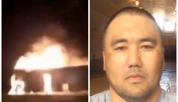 Тренер по греко-римской борьбе спас из горящего автобуса почти 50 человек. У него сгорели документы и 270 000 рублей