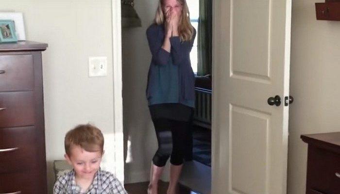 (Видео) Жена уехала из дома на 2 дня, а муж отремонтировал их спальню. От такого сюрприза женщина расплакалась!