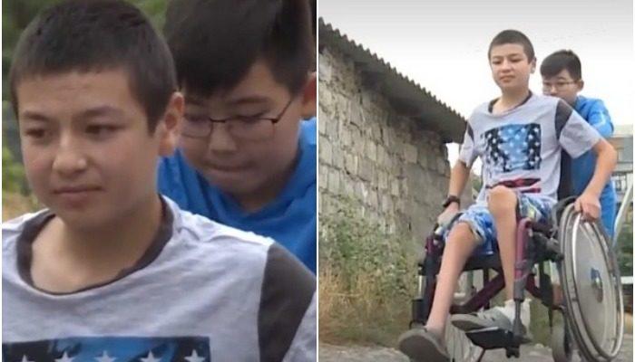 Мальчик собрал 1 400$ на лечение друга с ДЦП и повёз деньги на другой континент