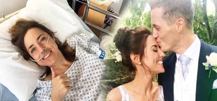 Смертельный диагноз возлюбленной только поторопил парня сделать предложение. Они прожили вместе несколько месяцев