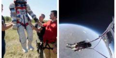 (Видео) «Валера» поднялся на связке гелиевых шаров на высоту 25 км. Туристов обещают поднимать на 40 км
