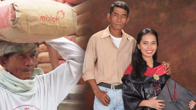 24 года отец носил мешки с цементом, чтобы дочь получила образование. Душевная история, рассказанная успешной выпускницей о папе