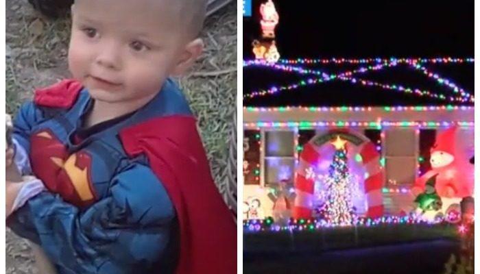 Родители устроили 2-летнему сыну Рождество в сентябре. Малыш не знает, что не доживёт до праздника
