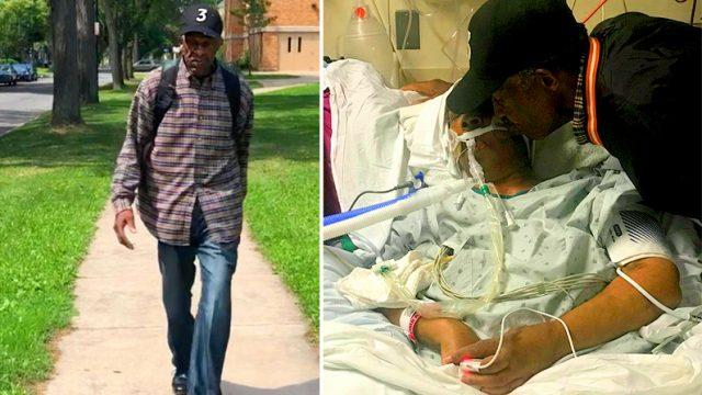 99-летний мужчина ежедневно проходит пешком 10 км, чтобы навестить жену в больнице