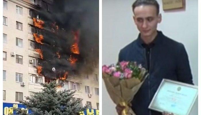 (Видео) Студенты вытаскивали людей из огня: «Мы с другом решили, что важно не снимать на видео, а спасать людей»