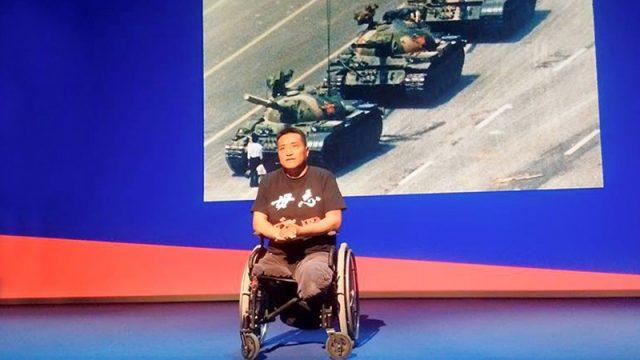 Оставшийся без ног после танковой атаки на площади Тяньаньмэнь мужчина рассказал о том, что пережил