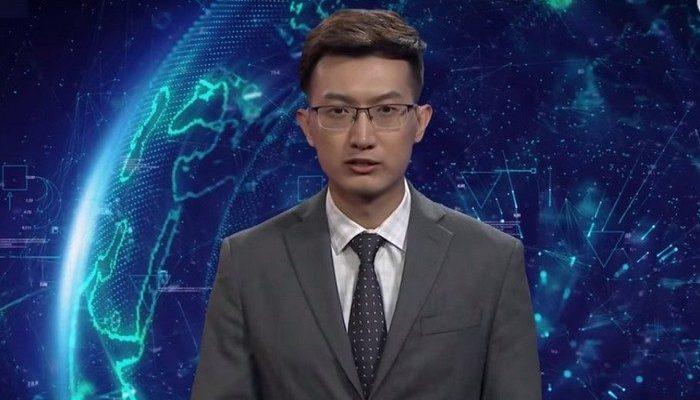 Китайцы разработали телеведущего с искусственным интеллектом, который готов вещать новости 24 часа в сутки