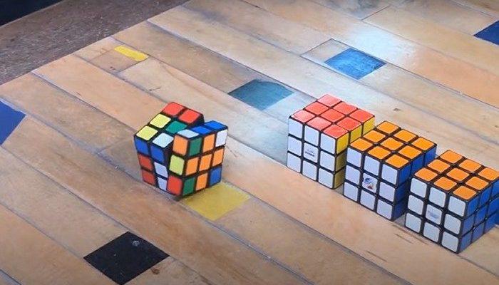 (Видео) Теперь кубик Рубика собирается сам. Японец превратил головоломку в фокус
