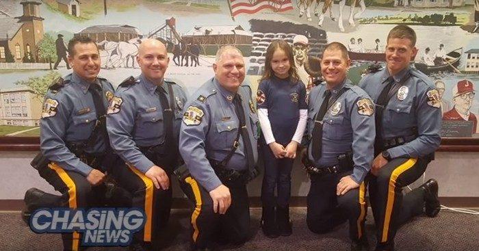 Девочка заплатила за обед полицейского, пожелав остаться неизвестной. Но офицер захотел щедро отблагодарить её за доброту!