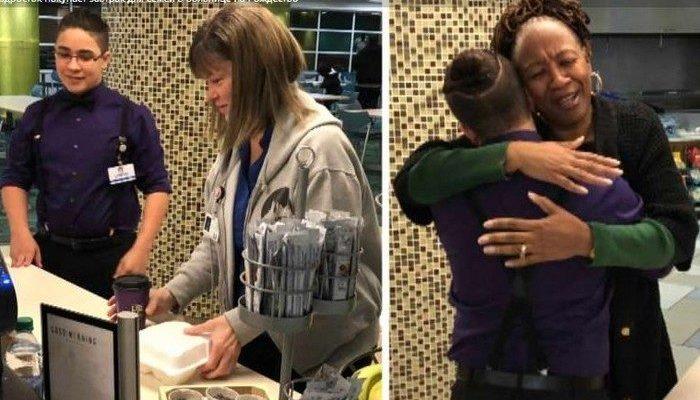 13-летний подросток целый год копил деньги, чтобы на Рождество угостить пациентов больницы
