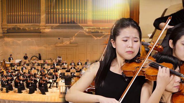 Трагедия в семье повлияла на игру молодой скрипачки. Её музыка проникает в душу