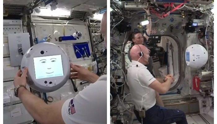 Робот на МКС отказался выполнить требование космонавта и попросил его быть добрее