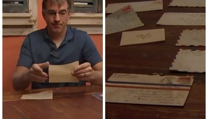 Любовные письма 1950-х годов обнаружил инспектор на чердаке старого дома и хочет отдать семье автора