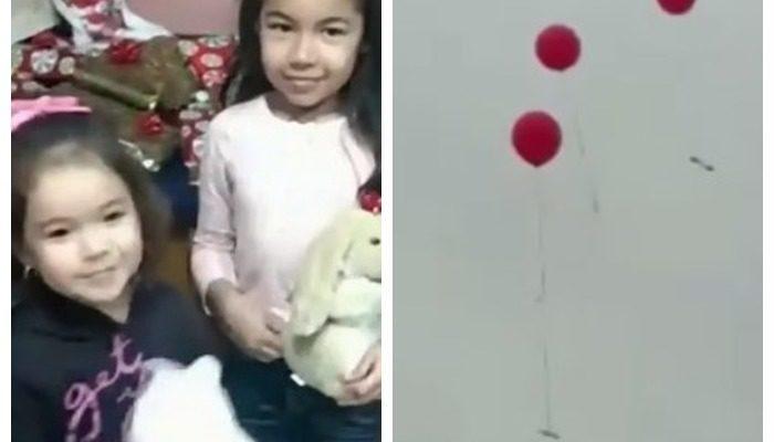 Мужчина нашёл воздушный шарик с запиской для Санты. Он решил побыть добрым волшебником и вручить подарки юному автору послания