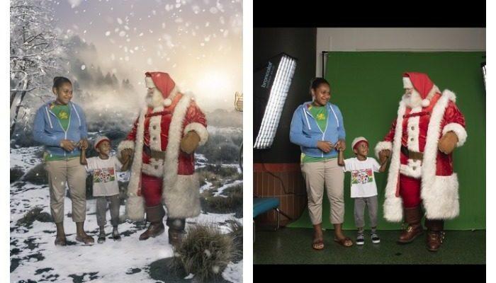 Фотографы делают волшебные снимки для детей, которые проведут Рождество в больнице