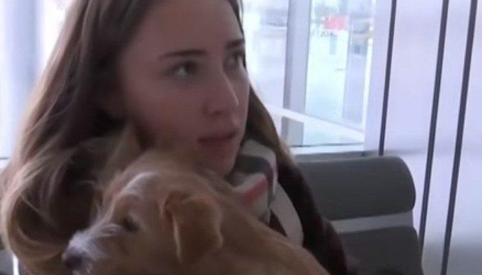 Студентка из Екатеринбурга в Китае спасла щенка от съедения и привезла его в Россию!