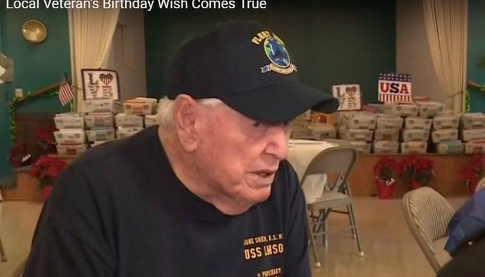 Ветерану Второй мировой войны прислали на 96-летие 50 000 писем и открыток