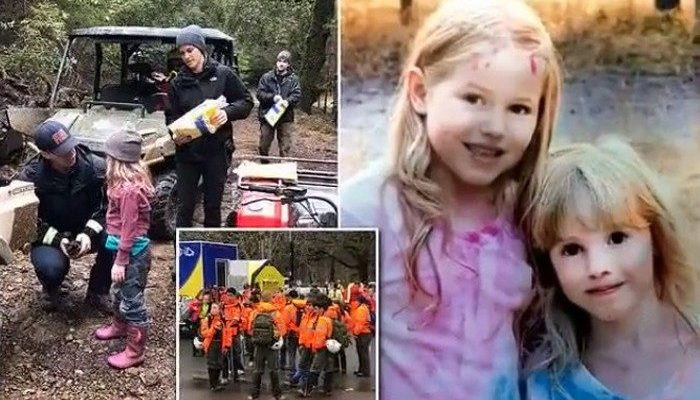 8-летняя и 5-летняя сестры два дня плутали по лесу. Спасатели нашли их по фантикам от конфет