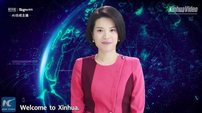 (Видео) На телевидении Китая появилась первая в мире телеведущая с искусственным интеллектом