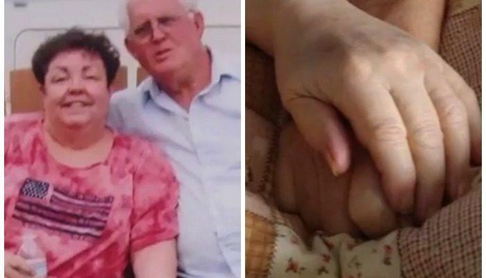 Супруги прожили вместе 56 лет и умерли в один день, держась за руки