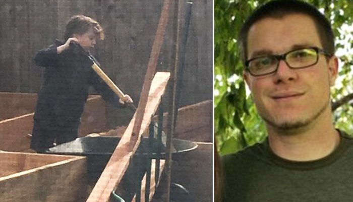 Урок папы о любви заставил 11-летнего сына оторваться от компьютера и заняться грязной работой