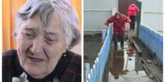 Участок 91-летнего ветерана войны уже 3 года затапливают талые воды. Помочь взялись волонтёры
