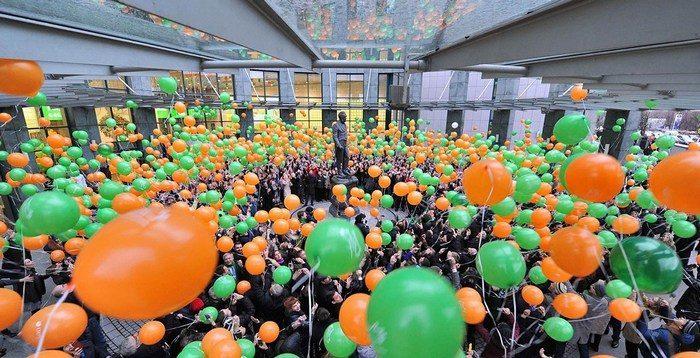 Благодаря одному студенту на губернаторском балу в Иркутске не будут запускать воздушные шары. Потому что они несут огромный вред природе!