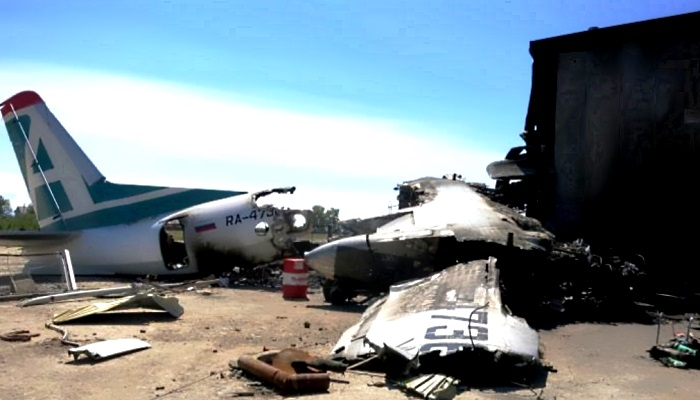 Стюардессу загоревшегося Ан-24, которая оставалась в салоне до эвакуации последнего пассажира, наградят в Бурятии