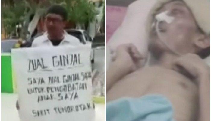 Мужчина решил продать почку, чтобы оплатить срочную операцию сыну. Его самоотверженность тронула врачей