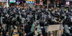 Полиция в Гонконге провела аресты до начала митингов. 21-я неделя протестов