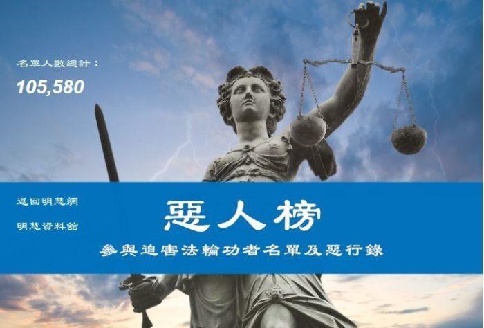 Более 100 тысяч госслужащих Китая обвиняют в репрессиях против последователей Фалуньгун (составлен список с указанием преступлений)