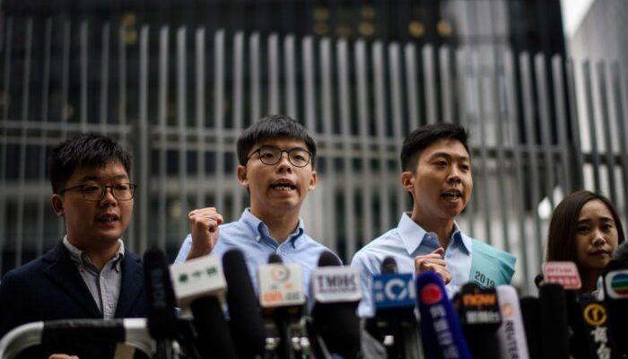 Джошуа Вонгу запретили участвовать в гонконгских выборах. Он обвиняет Пекин в политическом вмешательстве