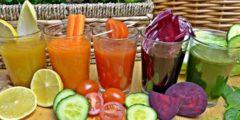 Полезный напиток из овощей