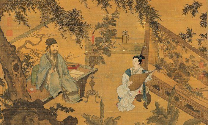 Как древние китайские художники использовали скандалы при дворе, чтобы напомнить о порядочности и честности? (часть 1)