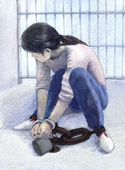 Метод пыток: сковывание суставов рук и ног