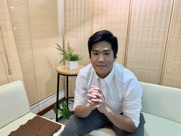 Зак Хо, студент-активист, в офисе The Epoch Times в Гонконге