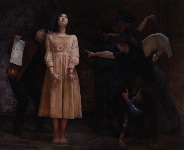 картина художницы Чинь-Чунь Лю, «Непоколебимая»