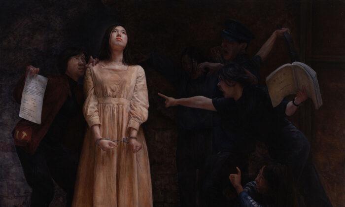 Портрет узницы трудового лагеря в Китае принёс художнице победу в Международном конкурсе