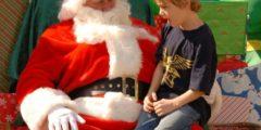 6-летний мальчик растрогал маму до слёз, попросив у Санта-Клауса время(?!)