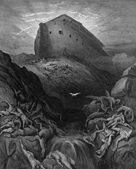 «Ноев ковчег» иллюстрация Гюстава Доре