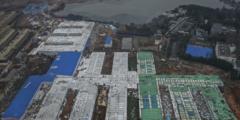 Пользователи сети считают, что больница Уханя, построенная из-за нового коронавируса, похожа на тюрьму