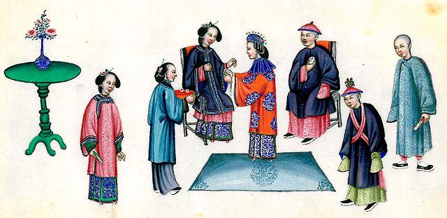 поседневная жизнь в старом Китае