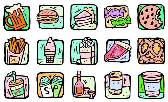 Самые вредные продукты современной диеты