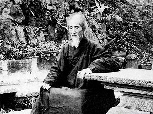 монах Сюй Юнь жил в храме Юньмэнь провинции Гуандун