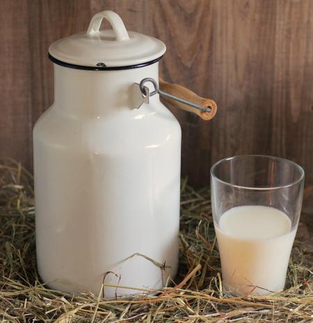 Бидон молока