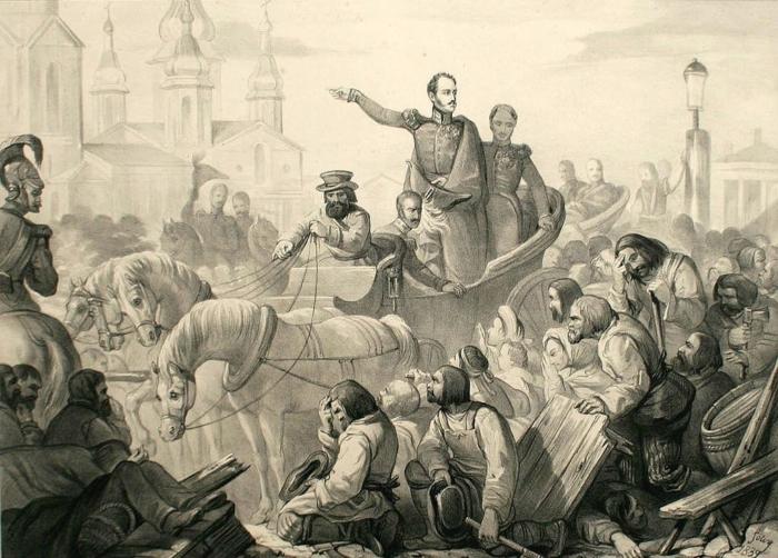 Правители и эпидемии. Как вёл себя Николай I, когда бушевала холера?
