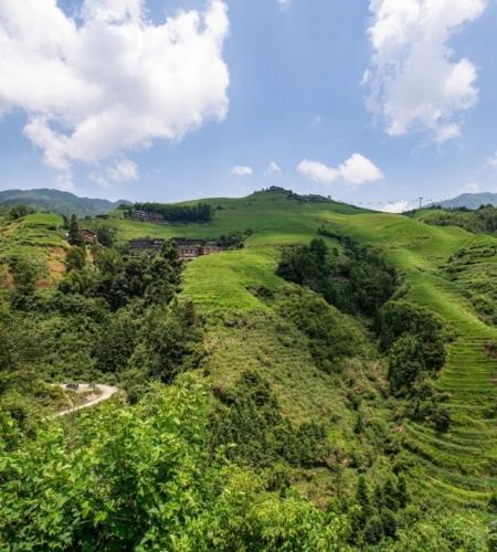 горный пейзаж в Китае