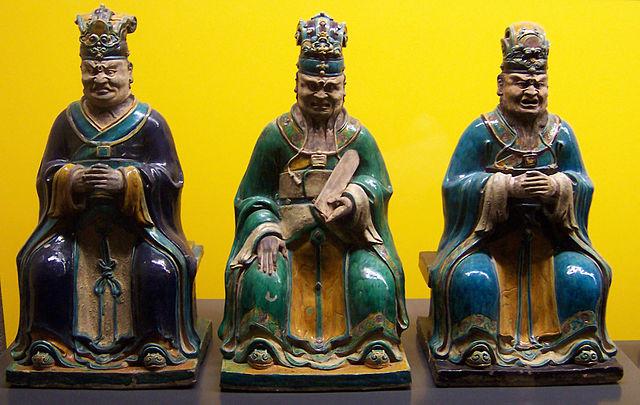статуэтки трёх царей Ямы